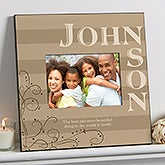 Personalized 5x7 Picture Frames - Family Memories - 9804