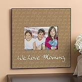 Personalized Photo Frames - 5x7 - Our Little Kids - 9842