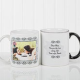 Personalized Message and Picture Custom Coffee Mug - 9844