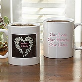 Heart Of Roses© Personalized Coffee Mug