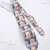 Personalized Photo Collage Neck Tie for Dad - 9888