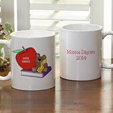 Personalized Teacher Coffee Mugs - Teddy Bear - 9902