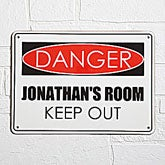 Personalized Street Sign - Danger Version - 9905