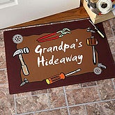 Personalized Garage Welcome Mat - Garage and Tools Design - 9913
