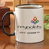 Personalized Corporate Custom Logo Coffee Mug - 9926