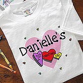 Personalized Baby's First Valentine Clothes - 9950