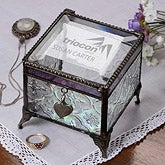 Personalized Corporate Engraved Logo Jewelry Box - 9964