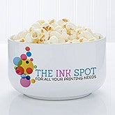 Personalized Corporate Custom Logo Snack Bowl - 9965