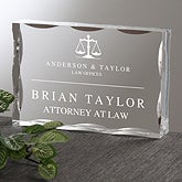 Personalized Corporate Engraved Logo Acrylic Plaque - 9966