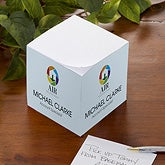 Personalized Corporate Custom Logo Note Cube - 9969