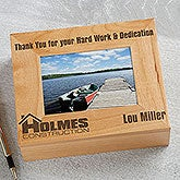 Personalized Photo Box With Your Business Logo - 9991