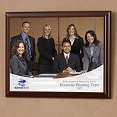 Personalized Corporate Custom Logo Recognition Plaque - 9995