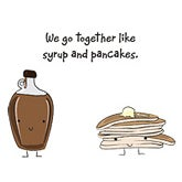Syrup and Pancakes
