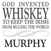 God Invented Whiskey