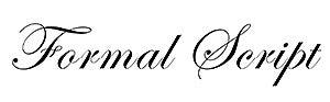 Formal Script