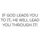 God Leads You