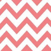 Salmon/Aqua Chevron