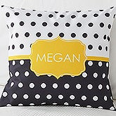 Black/Gold Polka Dot