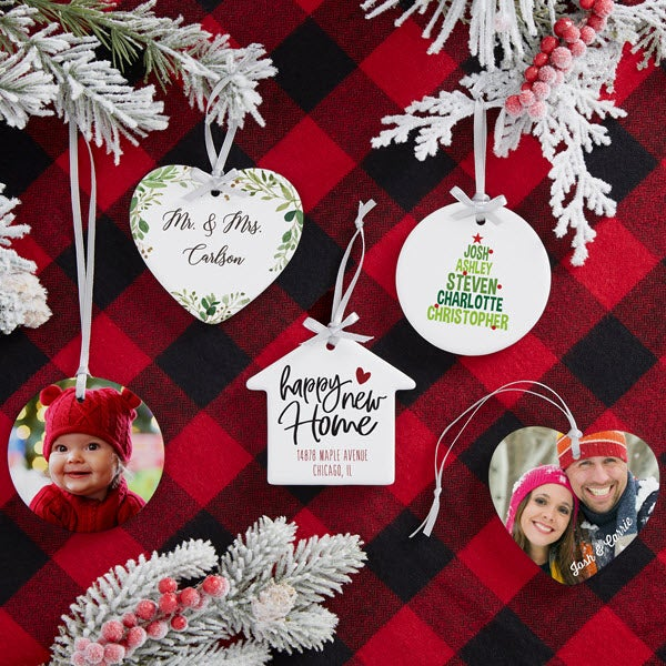 2018 personalized christmas ornaments personalization mall