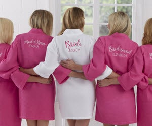 Personalized Bridesmaid Bathrobes