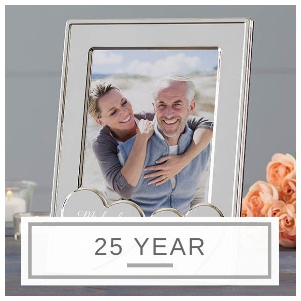 Silver Anniversary 25 Years Photo Album Wedding Gift