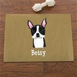 Personalized Dog Food Mat Top Dog Breeds Customer Reviews