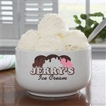 Personalized Ice Cream Bowls - Family Characters Quality was great and my