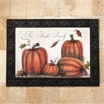 Personalized Fall Door Mat Autumn Pumpkin Fall Gifts