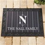 Personalized Elegant Monogram Doormats 18x27 For The Home