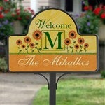 Personalized Yard Stakes Summer Sunflowers Customer Reviews