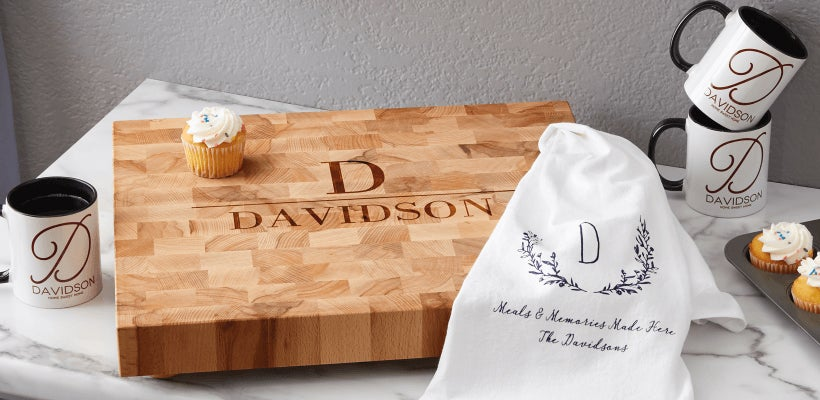 Personalized Home Decor & Housewarming Gifts