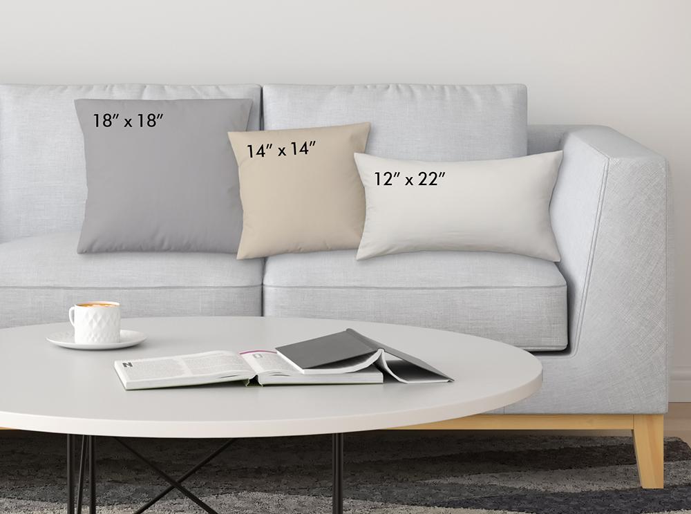 Custom Photo Lumbar Pillow